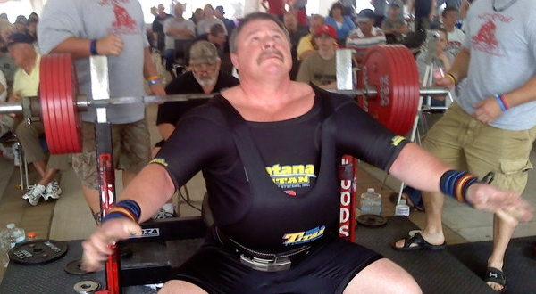 world record bench press holder