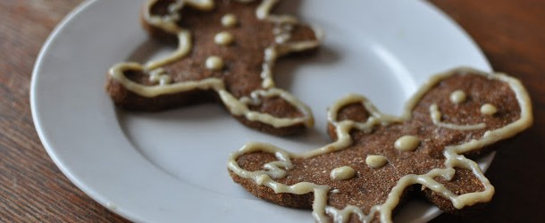 Low Calorie Low Fat Gingerbread Cookies with Black Strap Molasses ...
