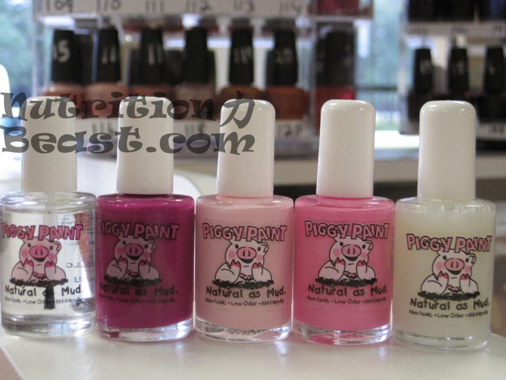 Free of the Toxic Five: All Natural Non-Toxic Piggy Paint Nail ...