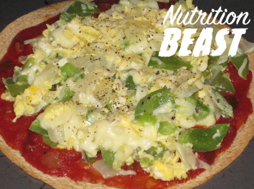 NB#4 Breakfast-High Protein Mexican Pizza with Mozzarella Cheese