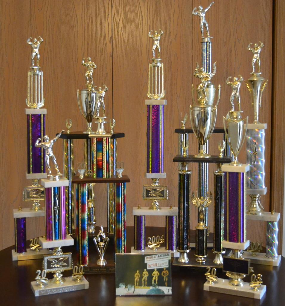 4 trophies