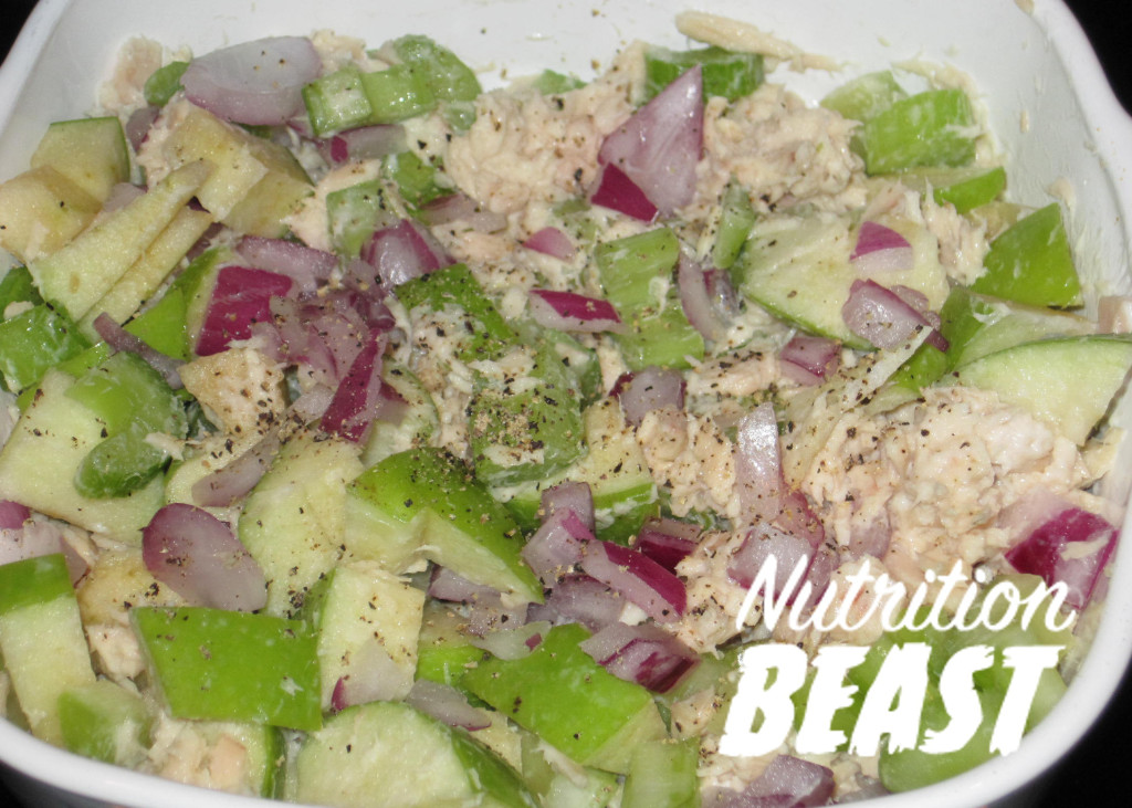 NB#4  Tuna Salad with Green Apple