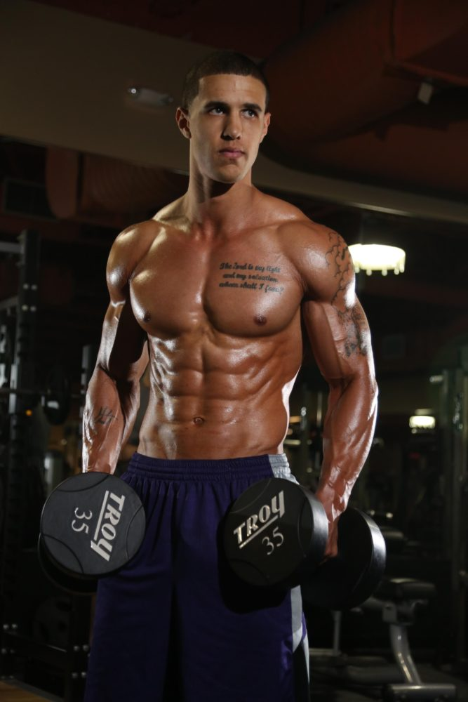 Fitness Models On Instagram Overtaking Celebrities As Role: Magnum Athlete Deron Gamble: WBFF Fitness Model & Hitch