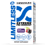 Magnum's Limitless Extreme Pre-Workout Stimulant