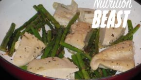 NB#10 High Protein Chicken Dinner with Asparagus and Fresh Herbs