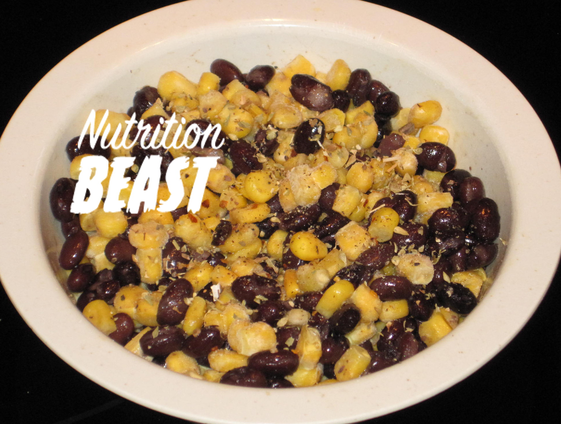 NB#8 Low Calorie Low Fat Spicy Black Beans and Corn