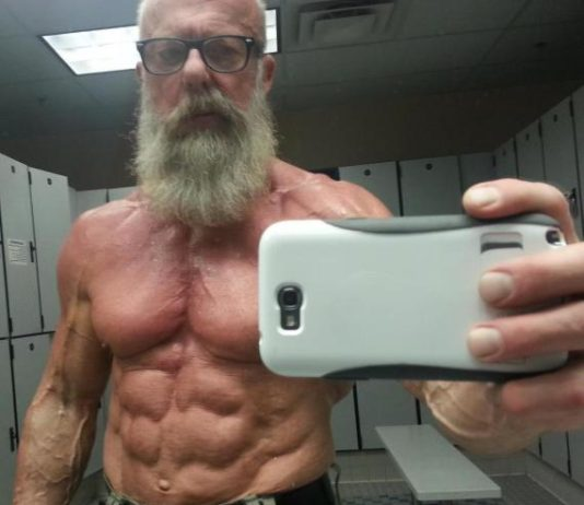Ripped Older Gentleman